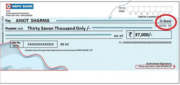 What are the Different types of Cheques in India? - ask.CAREERS