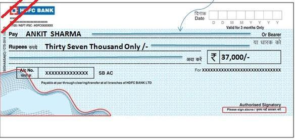 Crossed-Cheque
