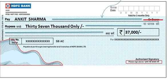 Order-Cheque
