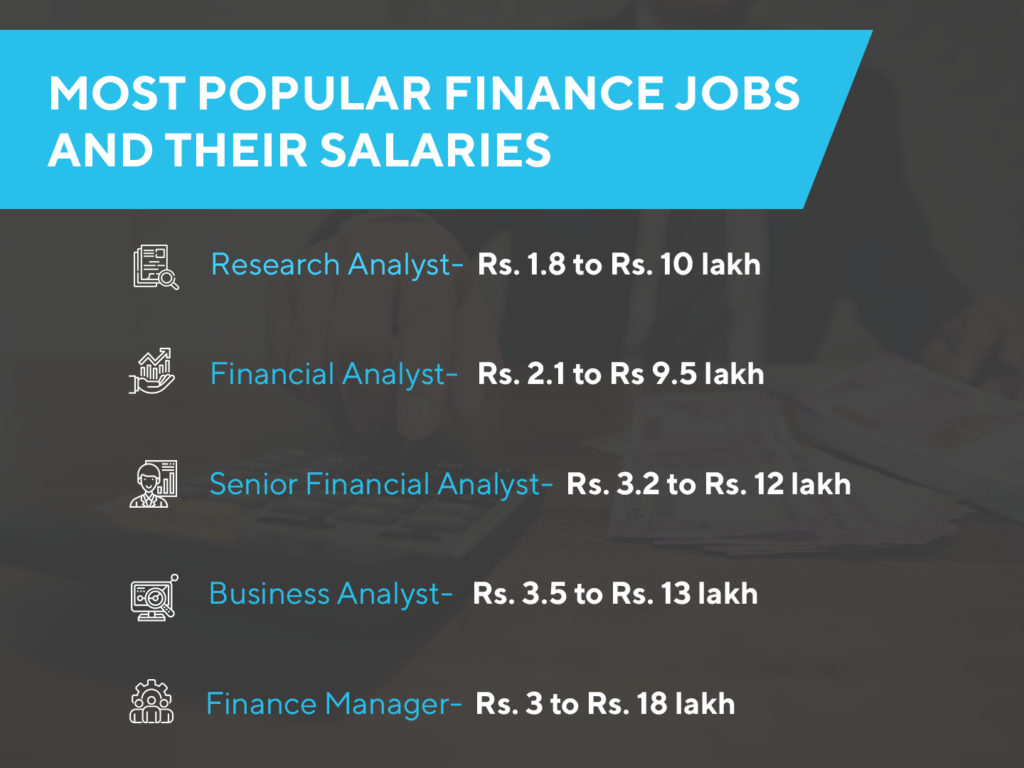 high paying jobs in finance
