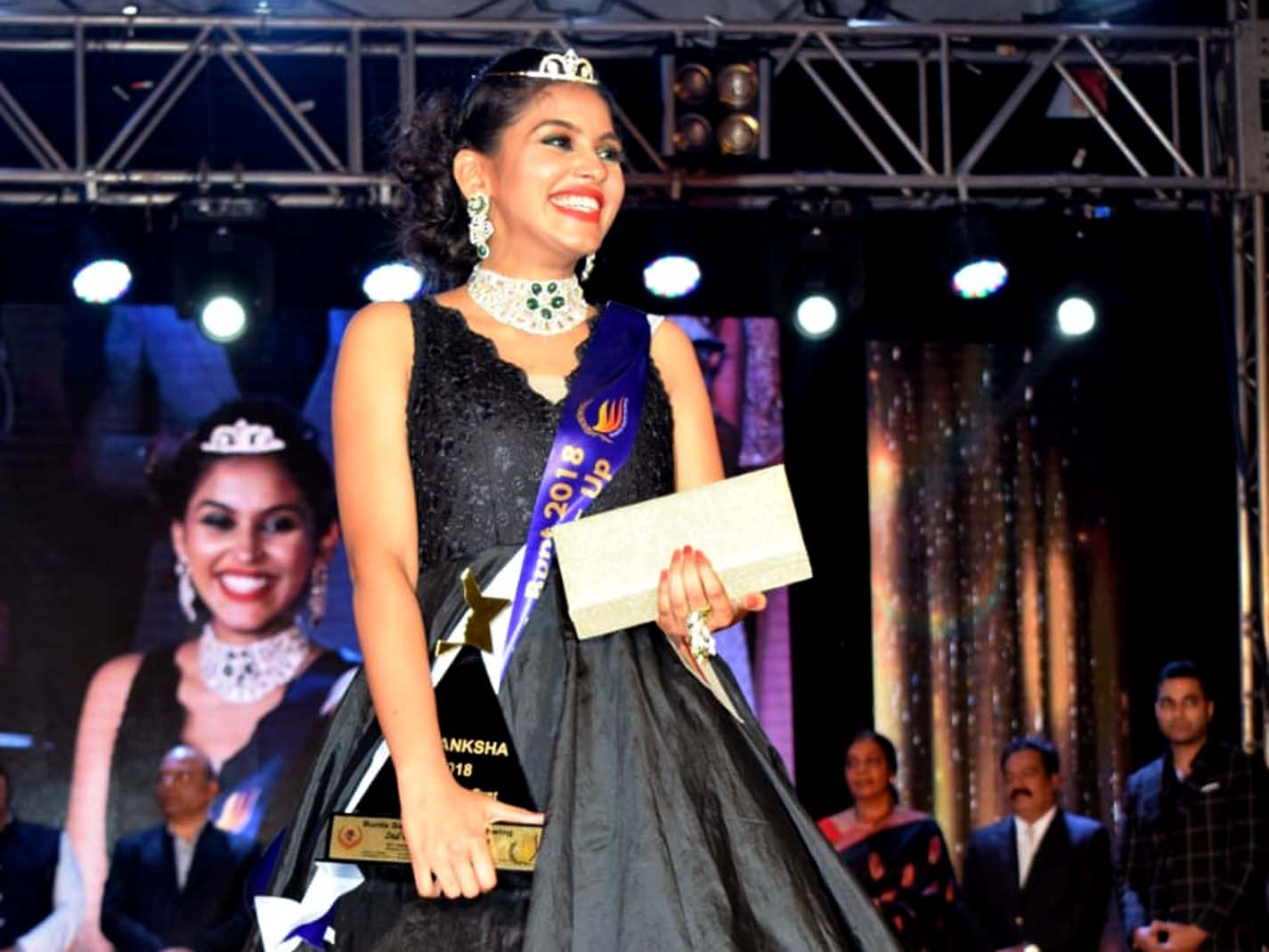 Our MBA Student Ranked 2nd at Beauty Pageant Aakanksha 2018