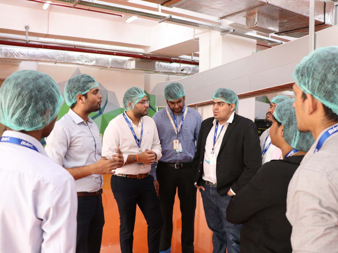 Industrial Visit at Bisleri, Mumbai