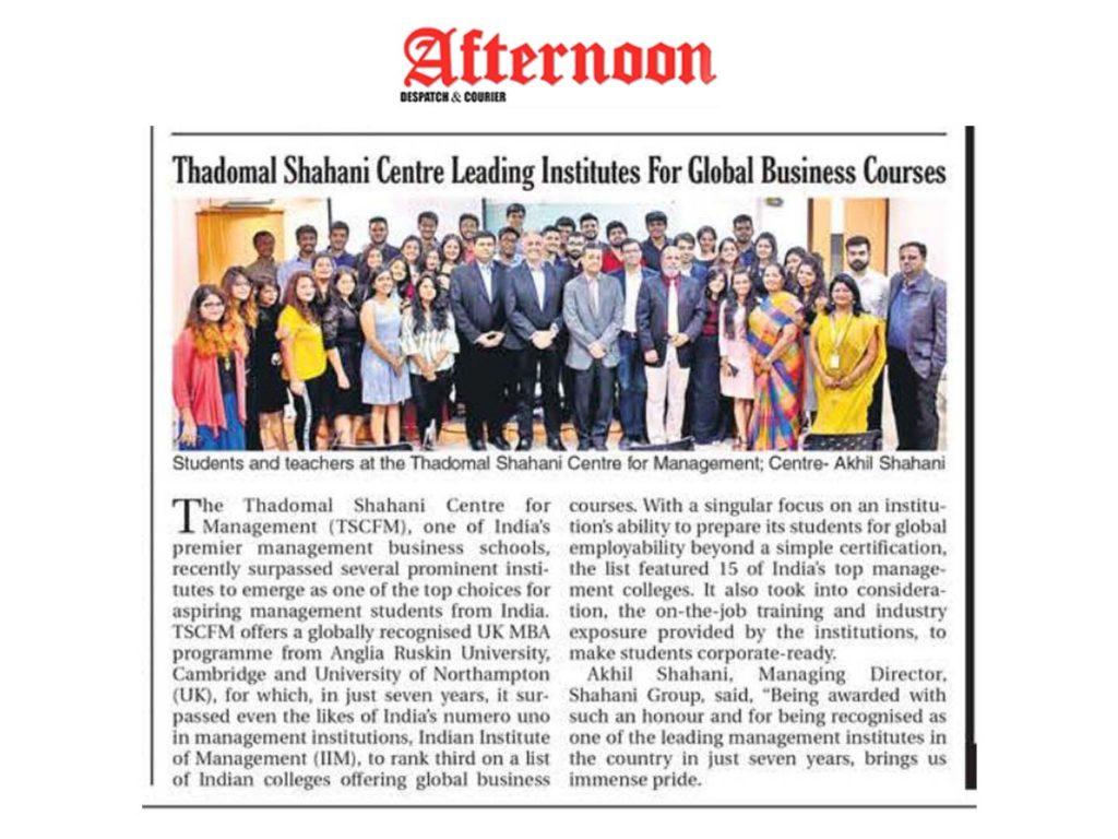 TSCFM - Leading Business Institute
