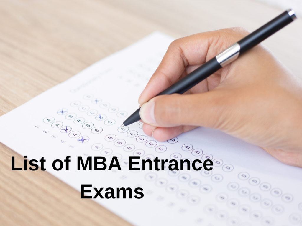 Entrance Exams for MBA Colleges
