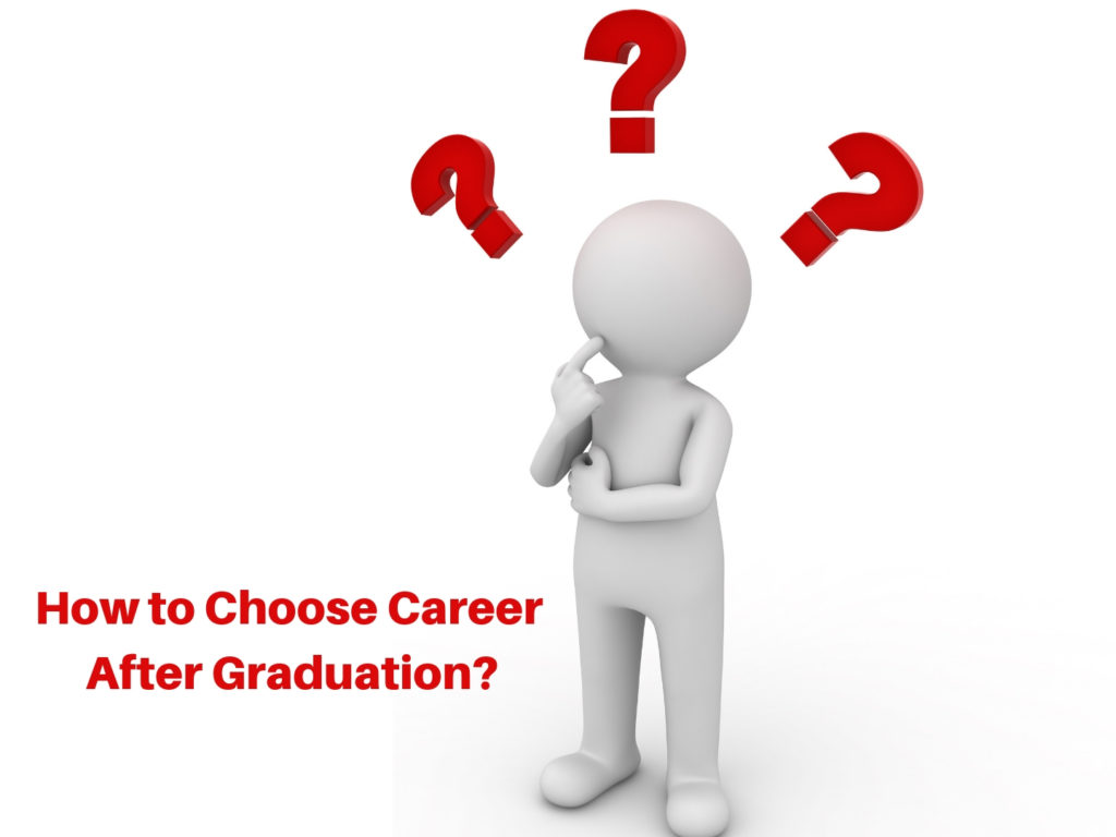 Ways to Help you Choose a Career After Graduation