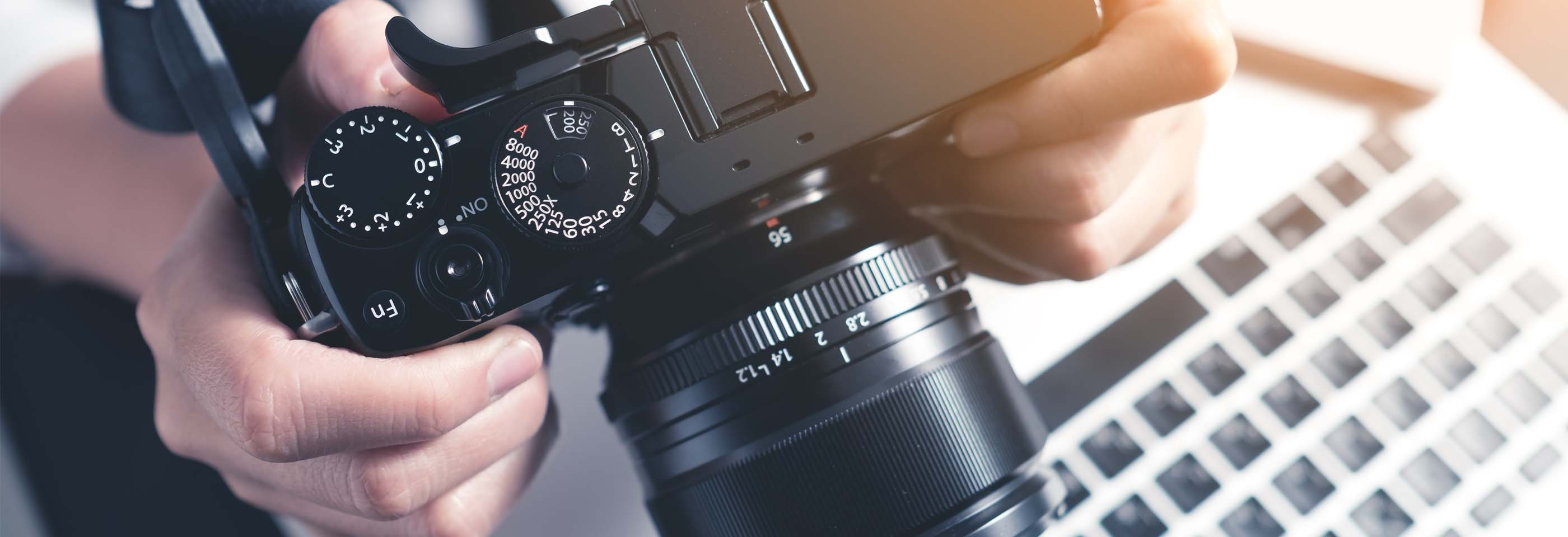 What are the various types of photography?
