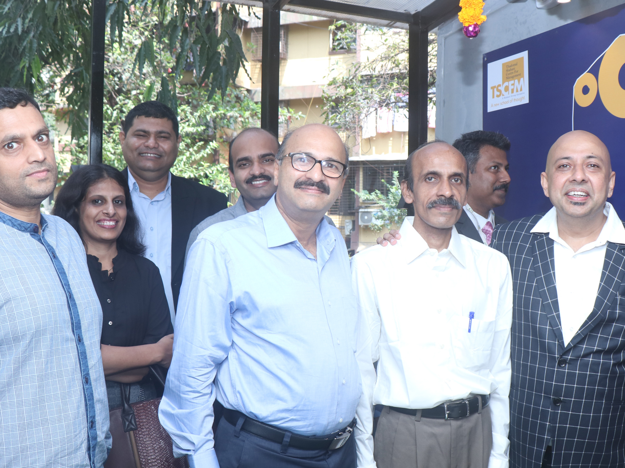 Thadomal Shahani Centre For Management launched its new campus at Mulund