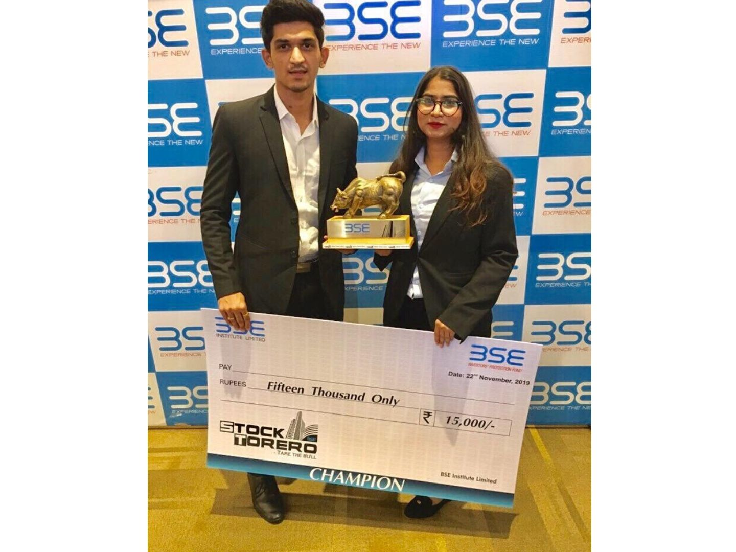 Our MBA students won first place at BSE Institute's annual Financial Trading Contest