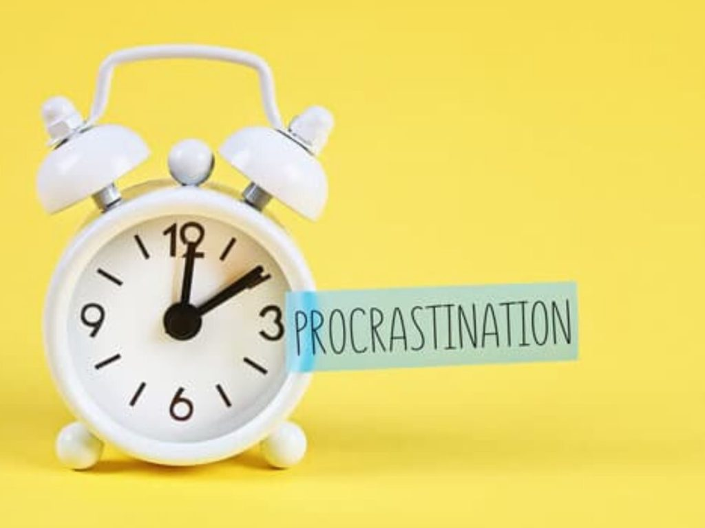 A brief guide on how to stop procrastinating