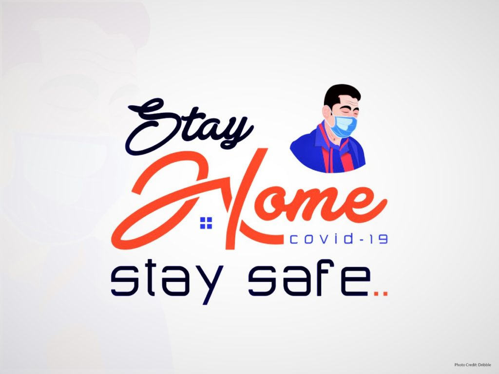 Advertisers convey message to stay home, stay safe