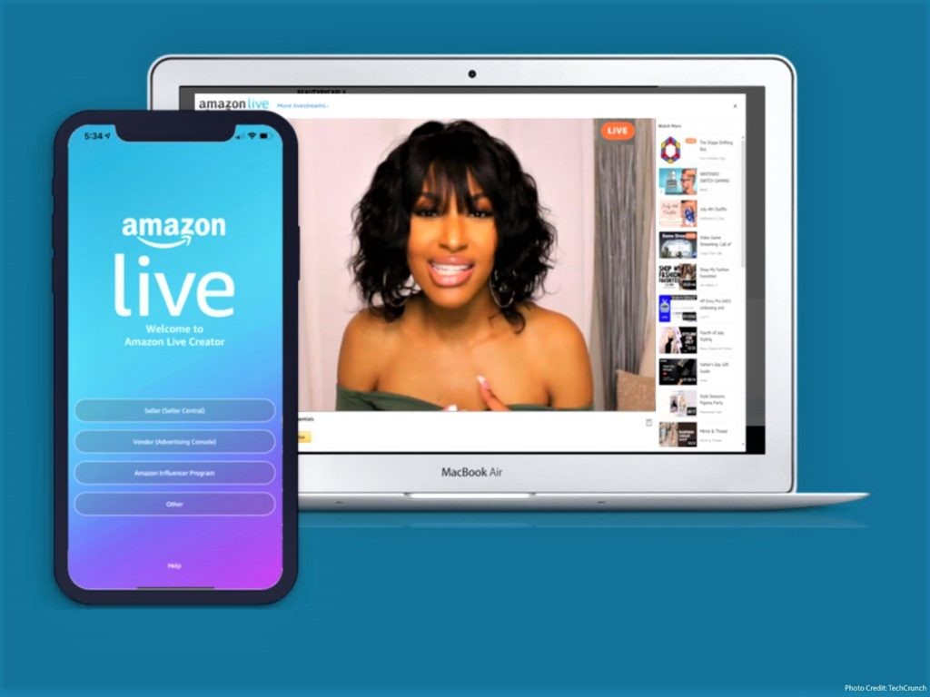 Amazon influencer program opens for live streamers