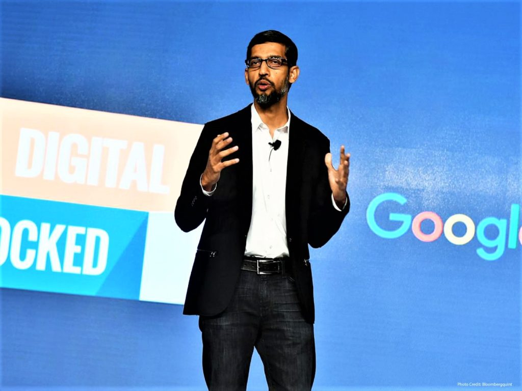 Google search means India's digital future
