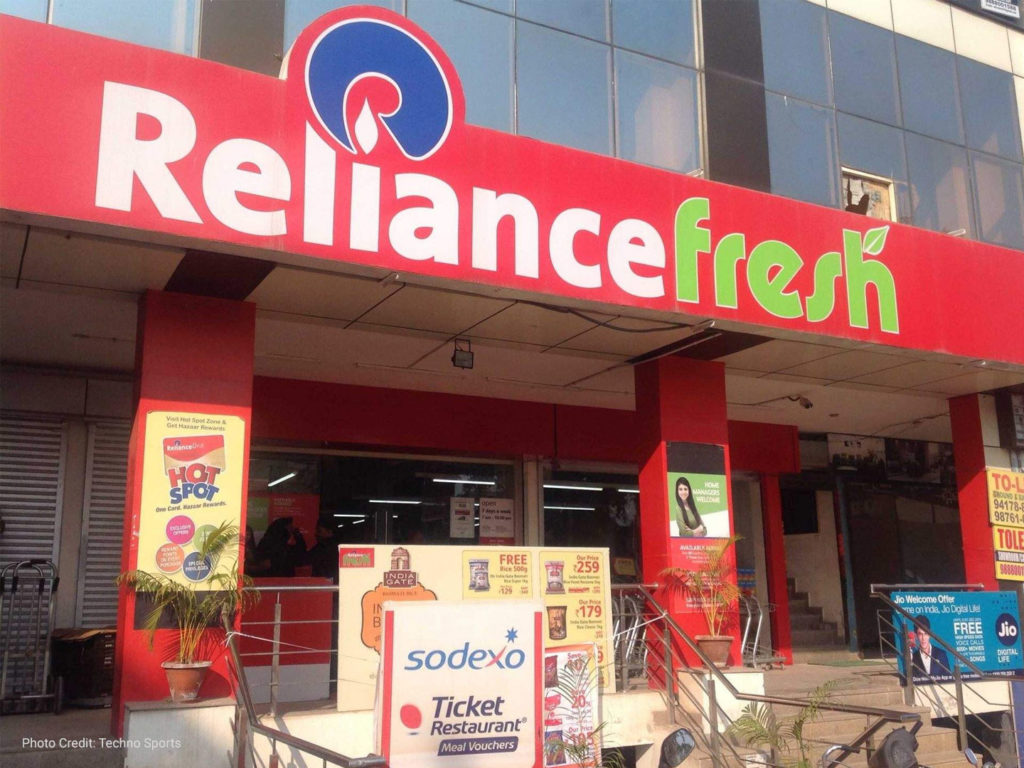 Reliance retails expands vocal for local mission
