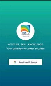 ask career app screenshot