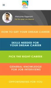 ask careers dream job career app