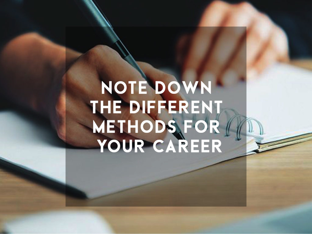Different methods to use while choosing your career path