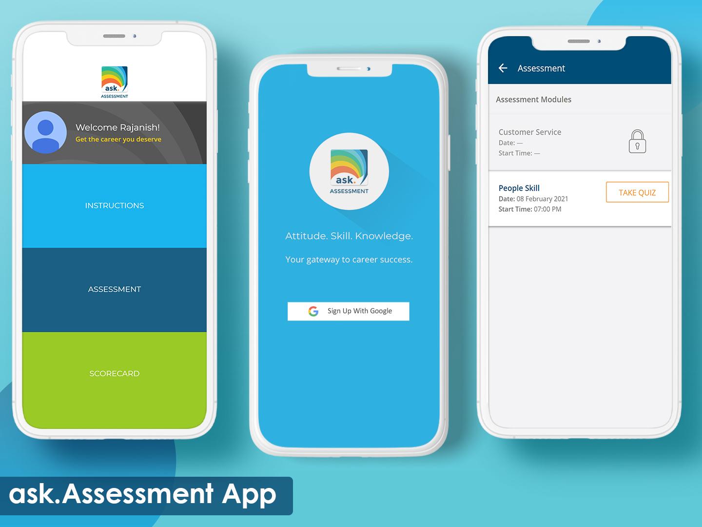 ask.CAREERS – Assessment App