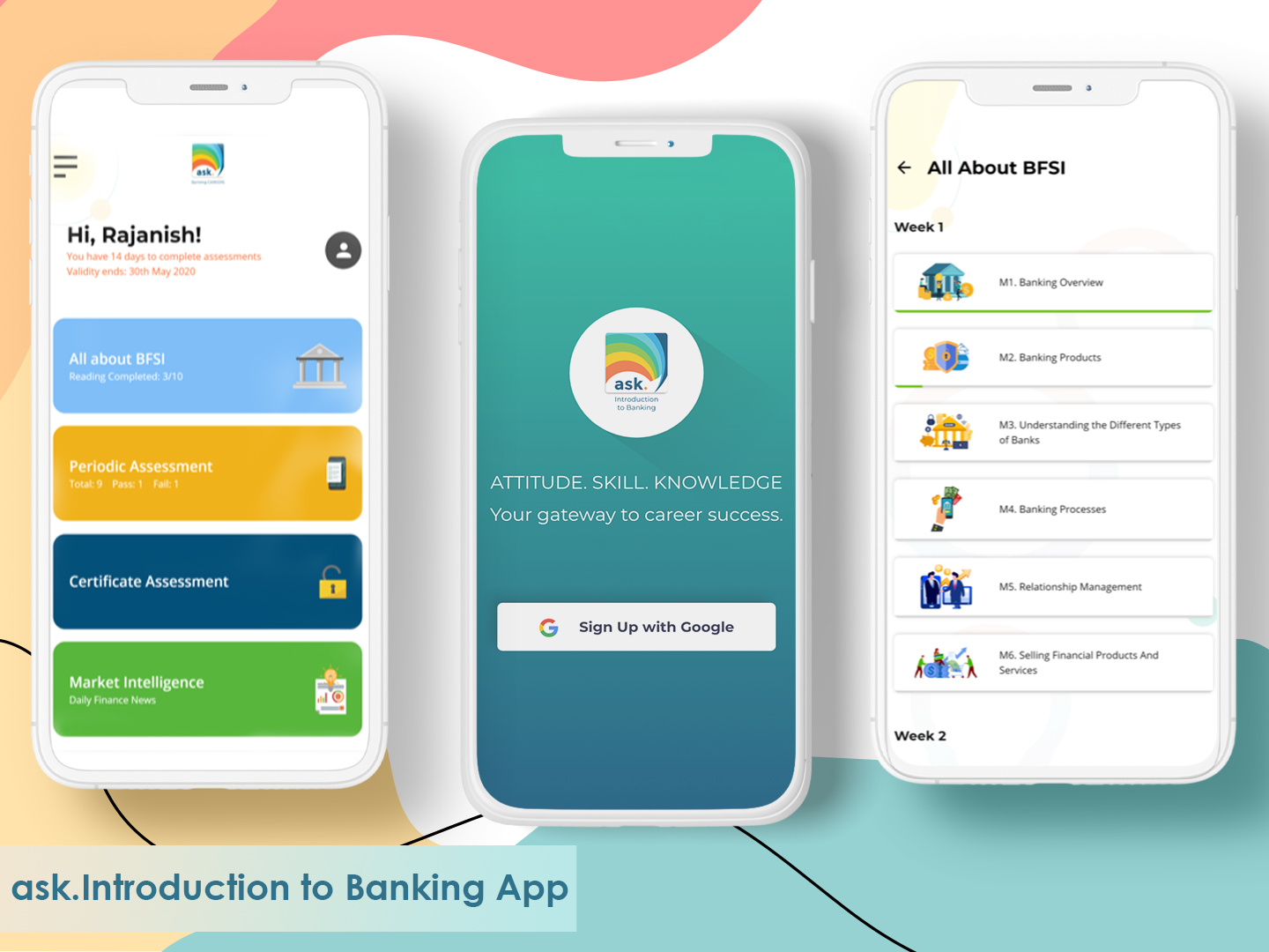 ask. Introduction to Banking